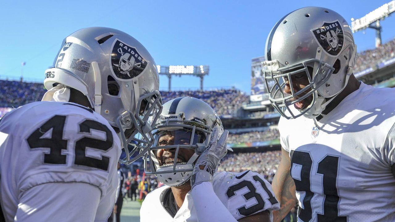 Oakland Raiders - Bildquelle: imago/Icon SMI
