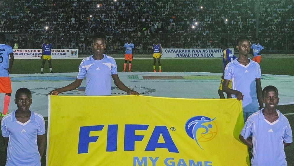 Somalia feiert seinen ersten Sieg in einer WM-Quali - Bildquelle: AFPSIDMOHAMED ABDIWAHAB
