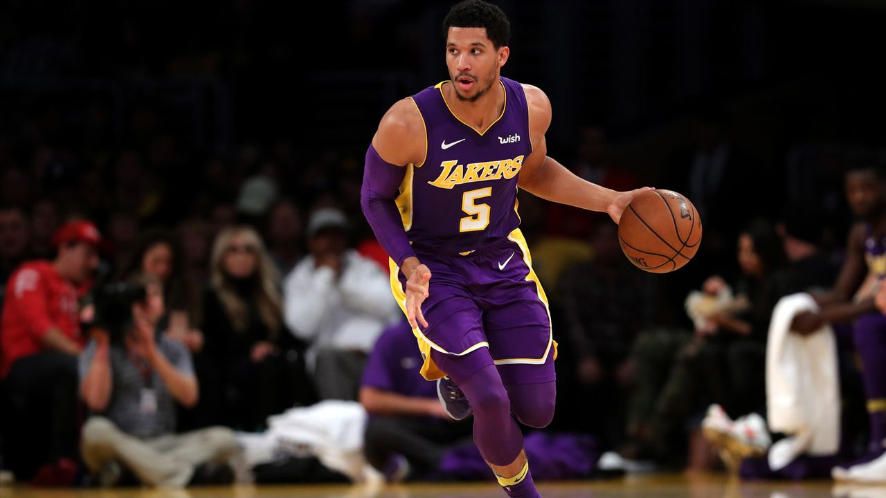 Josh Hart – Basketballer bei den Los Angeles Lakers - Bildquelle:  Getty Images