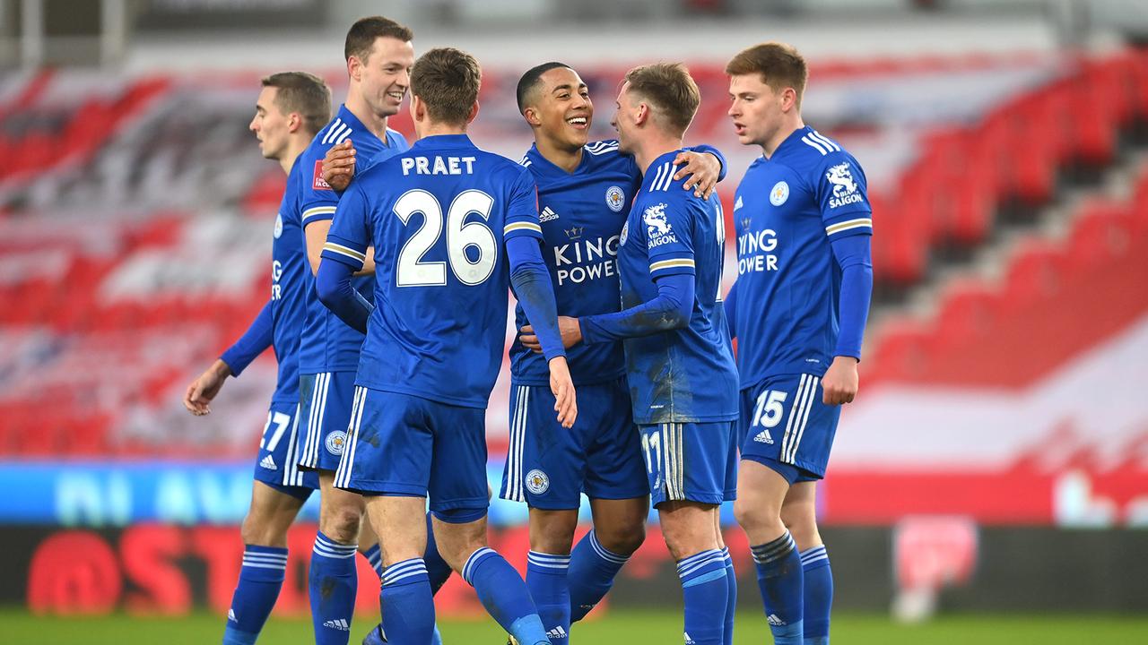 Leicester City (Platz 3 in der Premier League) - Bildquelle: Getty