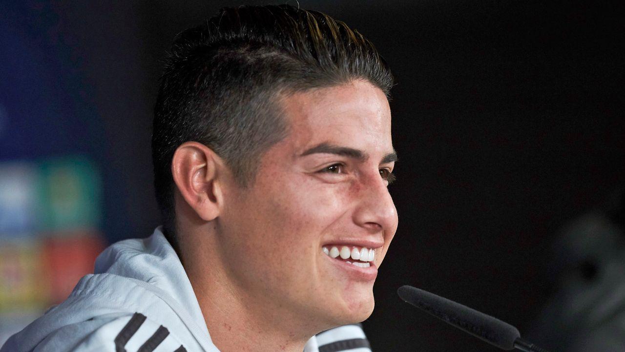 James Rodriguez (Real Madrid) - Bildquelle: 2017 Getty Images