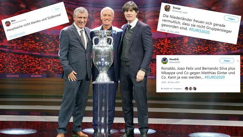 Hochkaräter unter sich! Deutschland trifft bei der EM 2020 auf Weltmeister F... - Bildquelle: Imago/twitter@HendoFSV/twitter@NicoNintendoMag/twitter@SvennieC_ee24