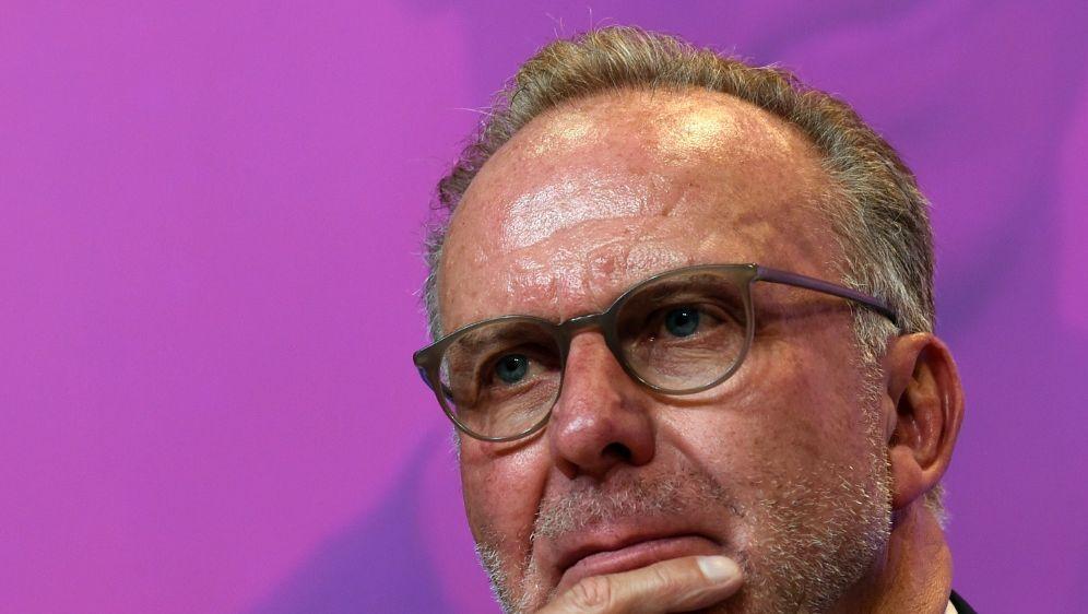 Bayern-Boss Karl-Heinz Rummenigge - Bildquelle: AFPSIDCHRISTOF STACHE