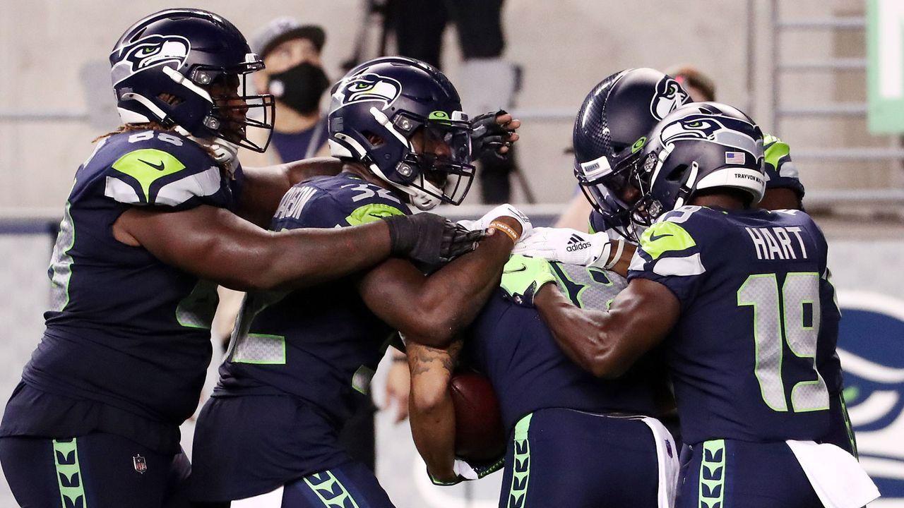 Passing Offense: Seattle Seahawks (41 Punkte) - Bildquelle: 2020 Getty Images