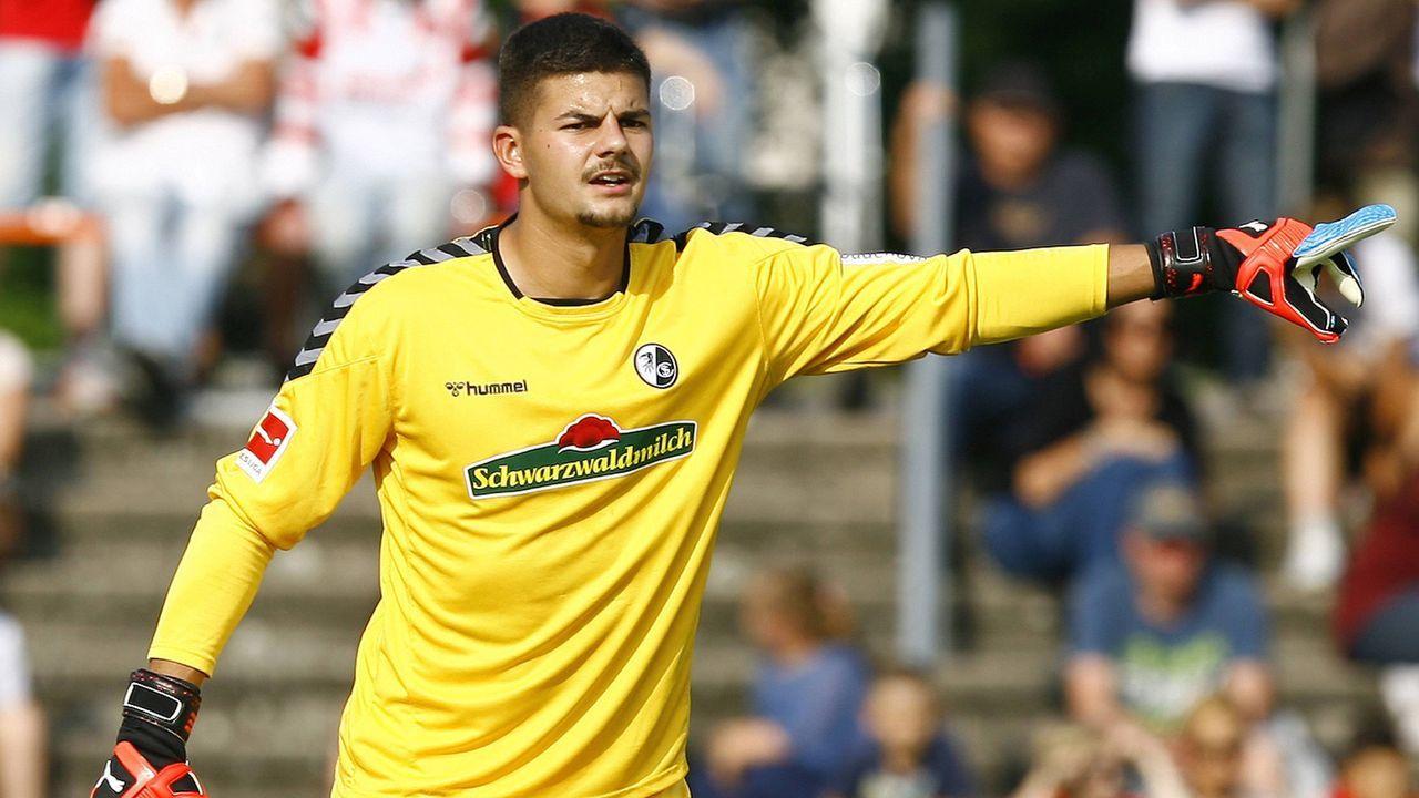 Niclas Thiede (Torwart, SC Freiburg) - Bildquelle: imago images / Sportnah