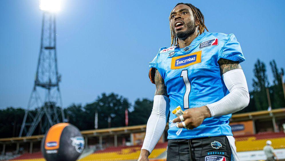 Darius Robinson, der Cornerback derWroclaw Panthers, war ein Star bei den C... - Bildquelle: imago images/Newspix