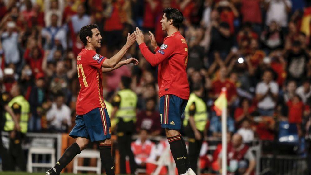 Spanien sicherte gegen Schweden das EM-Ticket - Bildquelle: PIXATHLONPIXATHLONSID