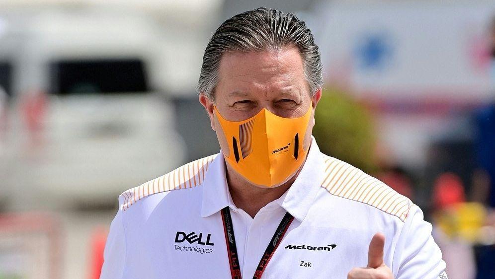 Brown: McLaren Racing will siegen - Bildquelle: AFPSIDANDREJ ISAKOVIC