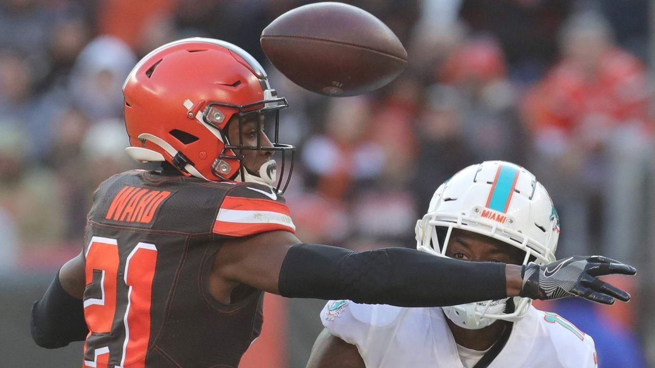Platz 7: Denzel Ward (Cleveland Browns)  - Bildquelle: imago