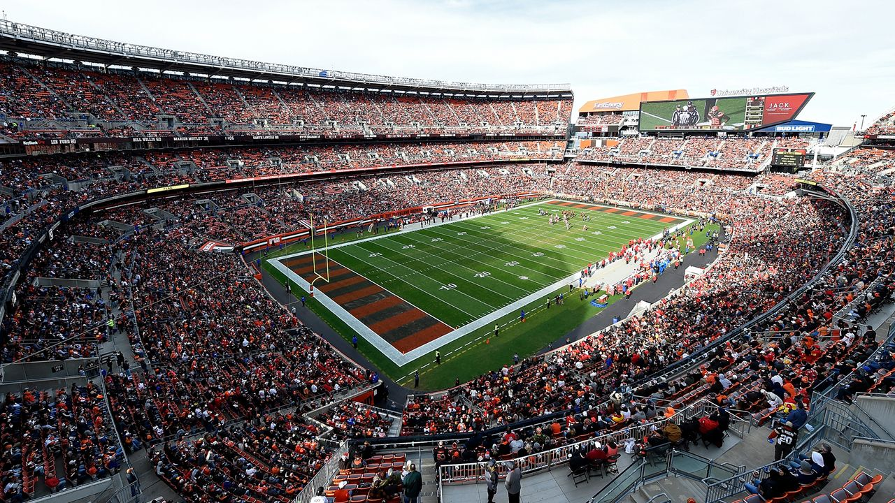 Cleveland Browns: FirstEnergy Stadium - Bildquelle: Getty Images