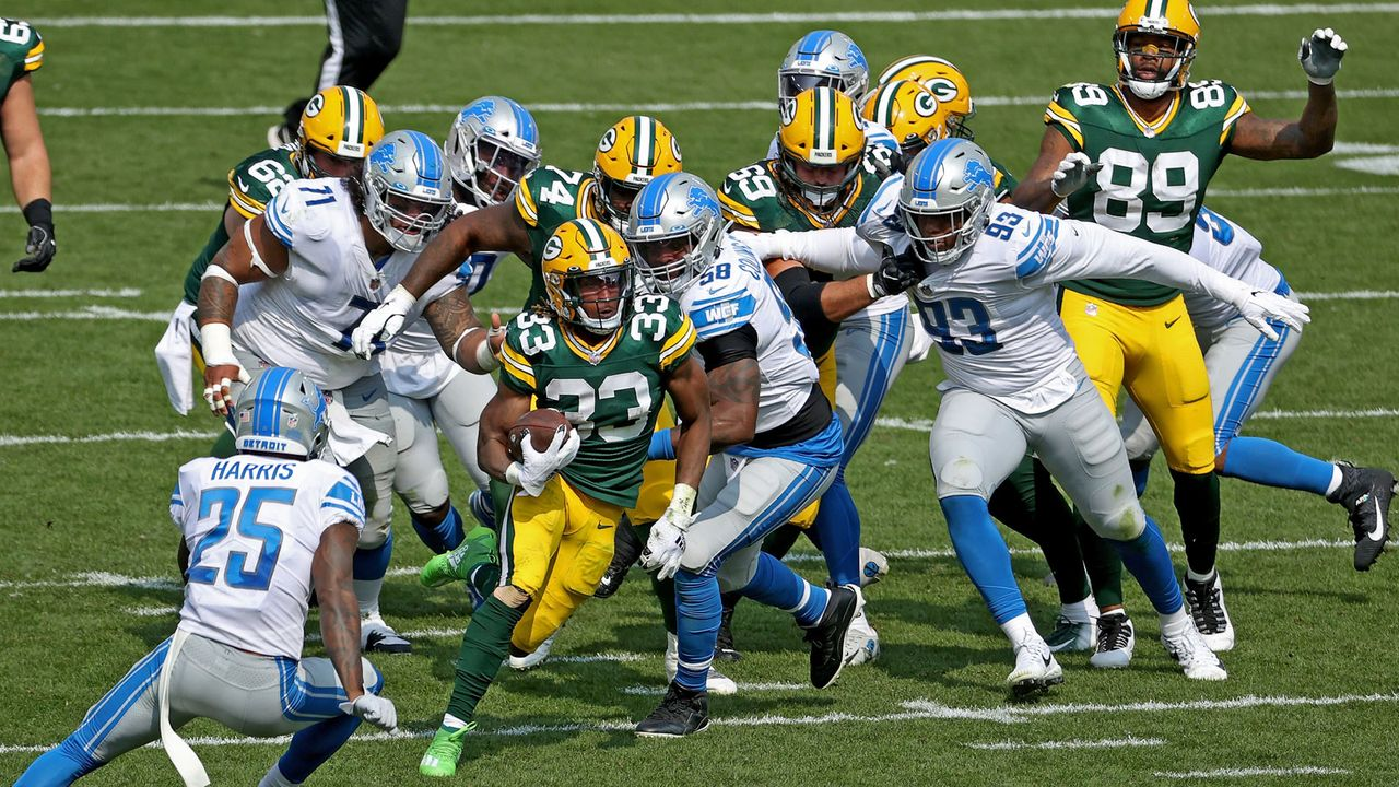 Rushing Offense: Green Bay Packers (39 Punkte) - Bildquelle: 2020 Getty Images