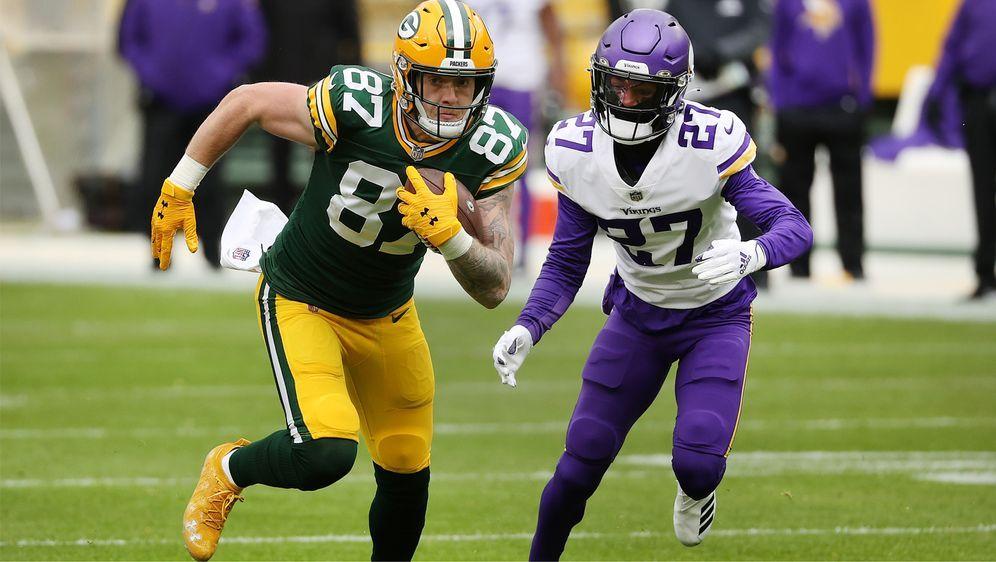 Fehlt den Packers in den ersten beiden Saisonspielen: Jace Sternberger - Bildquelle: Getty Images