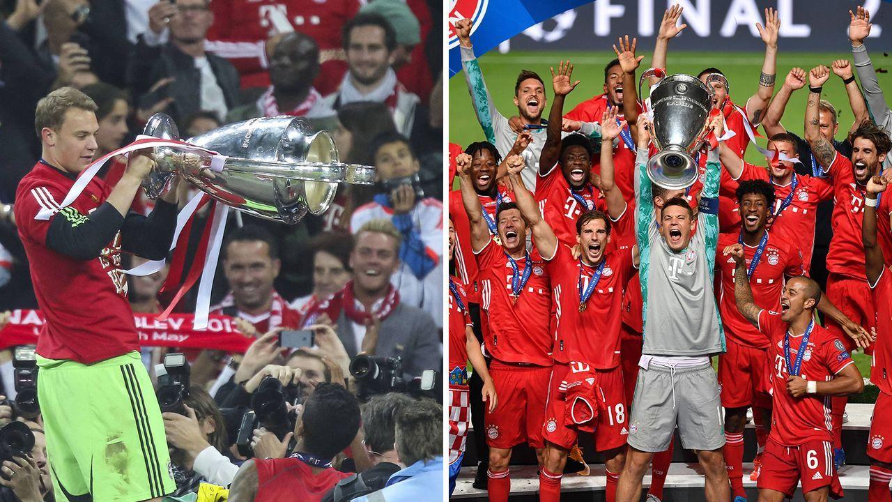 Manuel Neuer vs. Manuel Neuer - Bildquelle: Imago