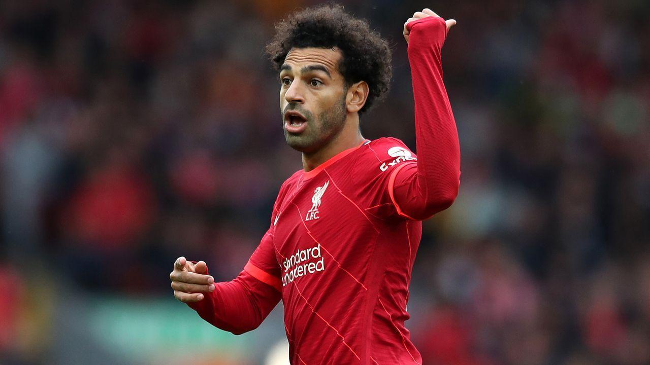 Platz 10 - Mohamed Salah (FC Liverpool) - Bildquelle: 2021 Getty Images