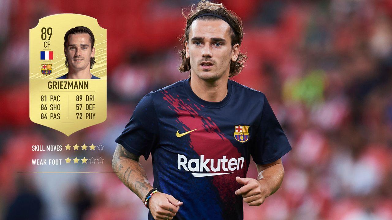 11. Antoine Griezmann (FC Barcelona)  - Bildquelle: 2019 Getty Images
