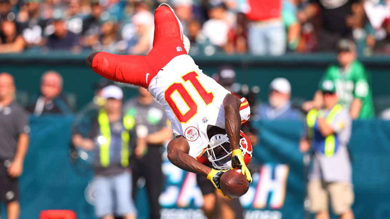 Gewinner: Tyreek Hill (Kansas City Chiefs) - Bildquelle: Getty Images