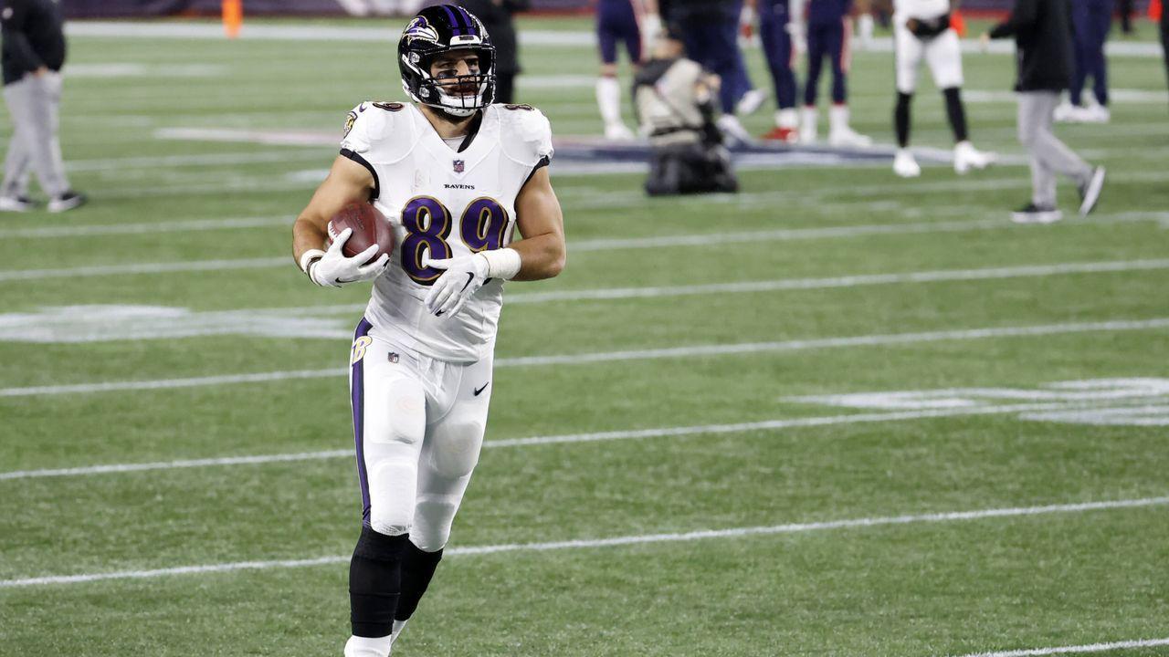Mark Andrews (Baltimore Ravens) - Bildquelle: Imago