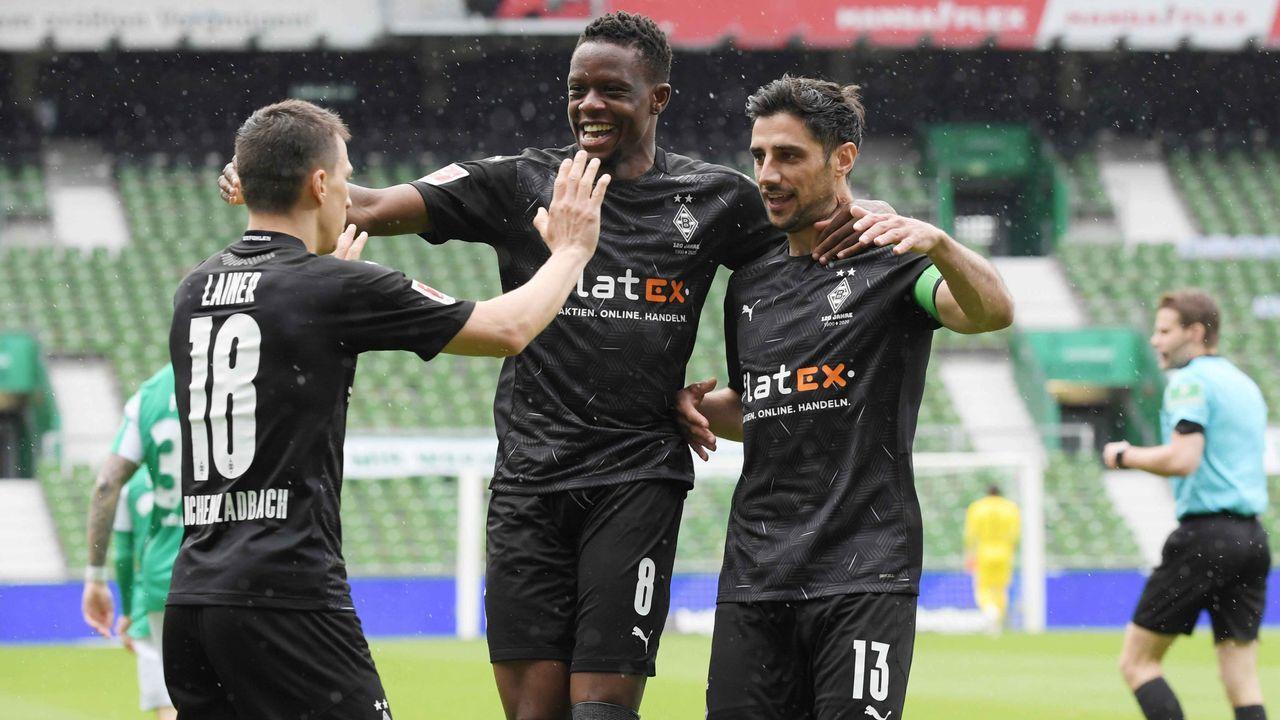 Platz 8: Borussia Mönchengladbach (9,09 Millionen Euro) - Bildquelle: imago images/Team 2