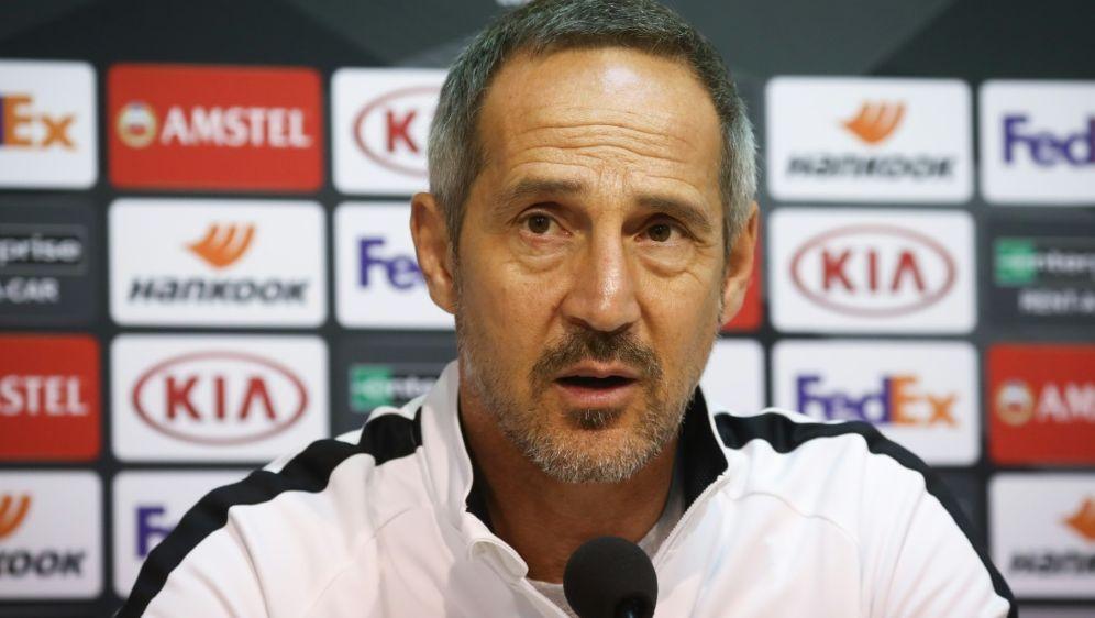 Adi Hütter glaubt an vorzeitiges Ende der Europa League - Bildquelle: AFPBELGA MAGSIDVIRGINIE LEFOUR