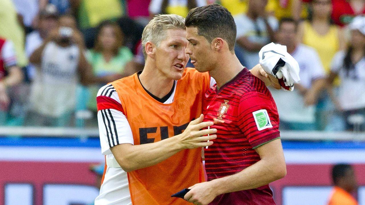 Schweinsteiger und Ronaldo - Bildquelle: Imago