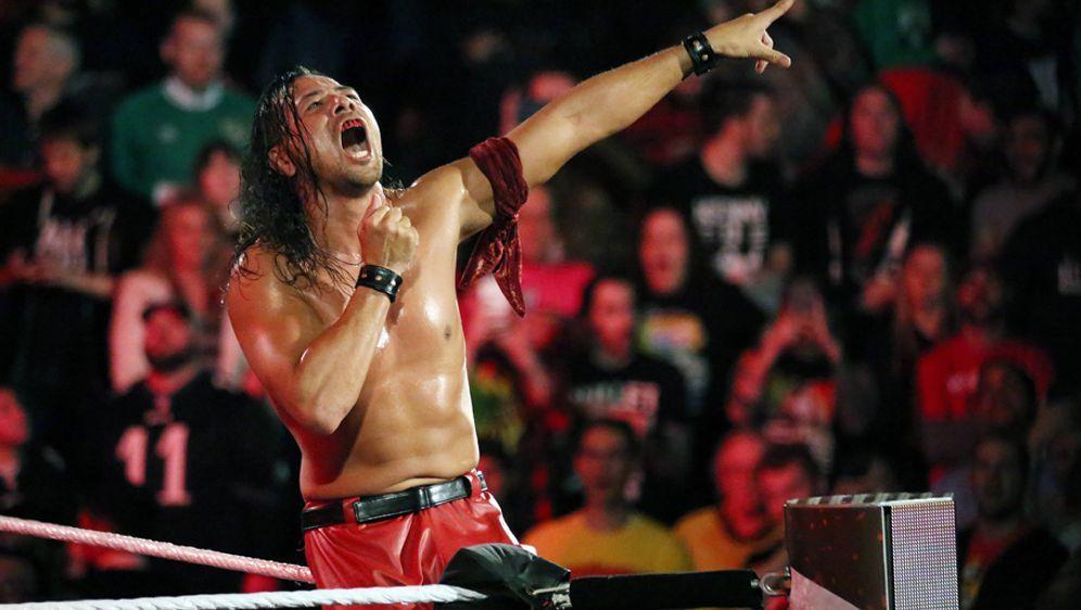 Shinsuke Nakamura ist einer der Fanlieblinge der WWE, hat aber bei WrestleMa... - Bildquelle: imago/MediaPunch