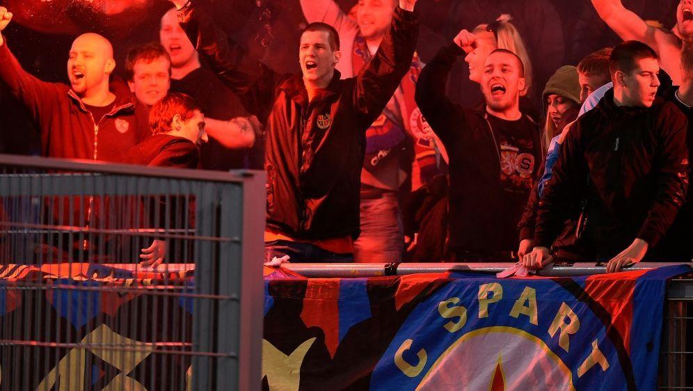 Sparta Prag: Ermittlung nach rassistischen Beleidungen - Bildquelle: AFPSIDALBERTO PIZZOLI