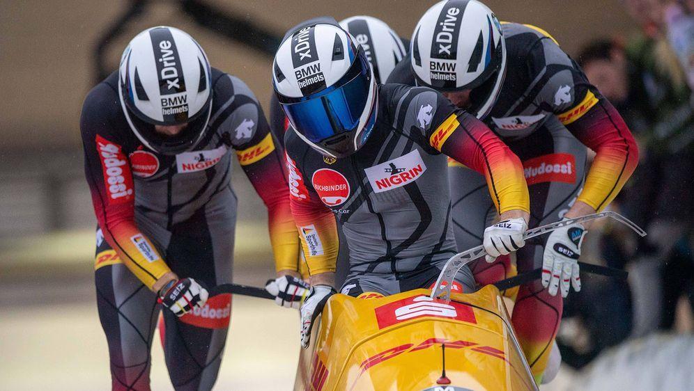 Doppelsieg in La Plagne: Francesco Friedrich. - Bildquelle: imago images/Sven Simon