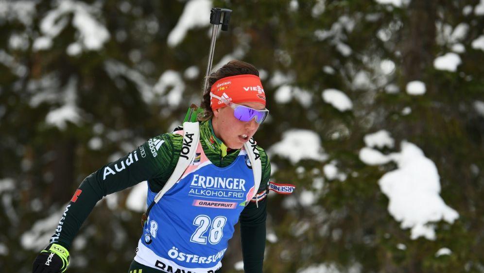 Dahlmeier trat am Ende der vergangenen Saison zurück - Bildquelle: AFPSIDJONATHAN NACKSTRAND