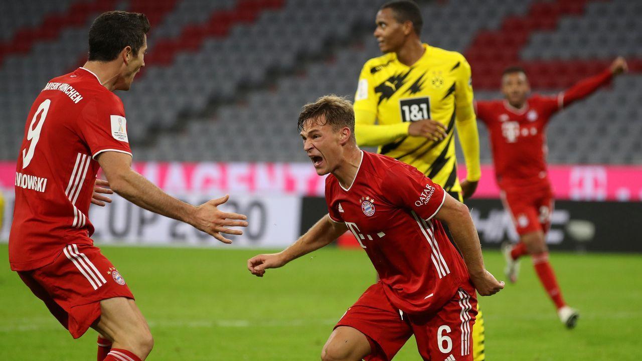 DFL-Supercup 2020: FC Bayern und Borussia Dortmund in der Einzelkritik - Bildquelle: Getty