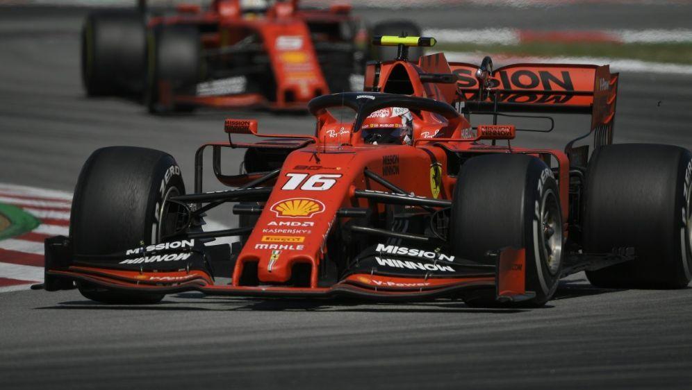 Ferrari steht nach Großen Preis in Spanien in Kritik - Bildquelle: AFPSIDLLUIS GENE