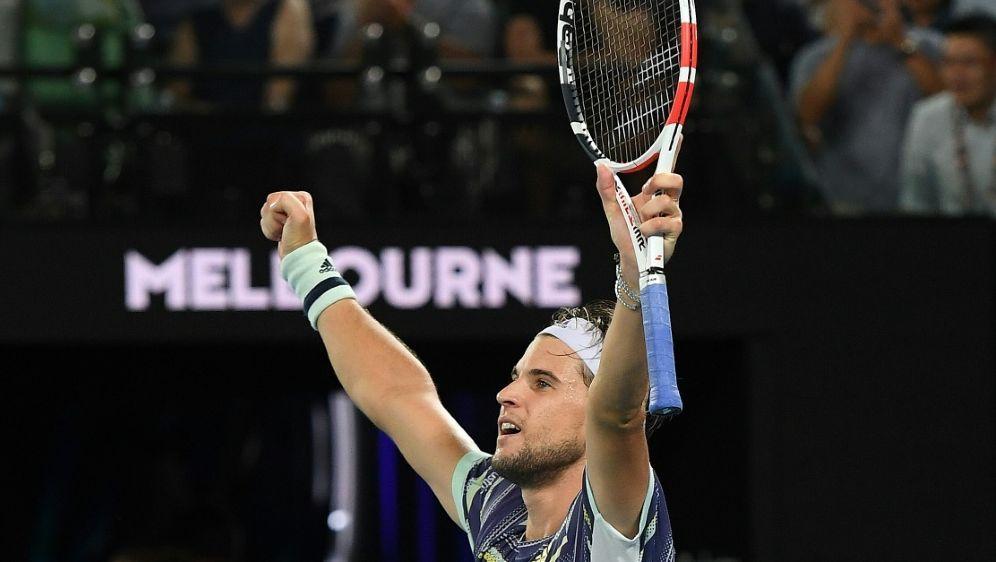 Dominic Thiem bezwingt Nadal und trifft auf Zverev - Bildquelle: AFPSIDWilliam WEST