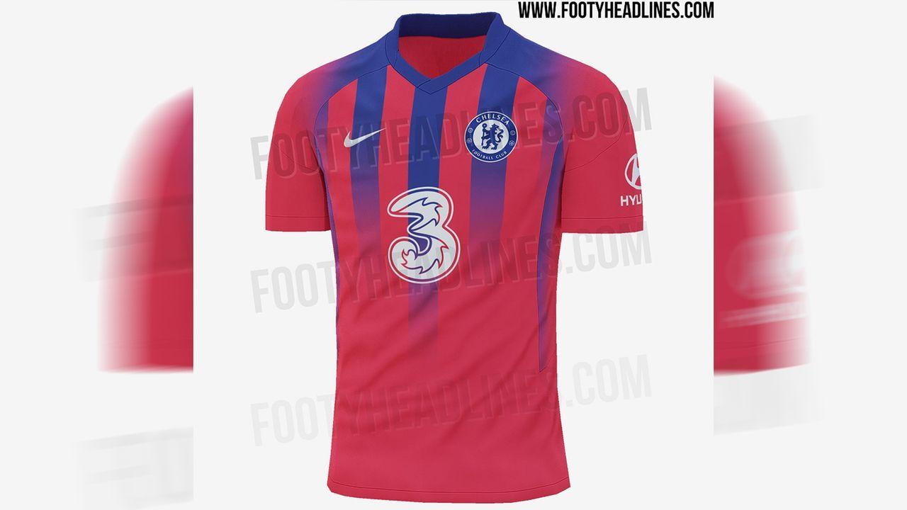 FC Chelsea (drittes Trikot) - Bildquelle: twitter@Footy_Headlines