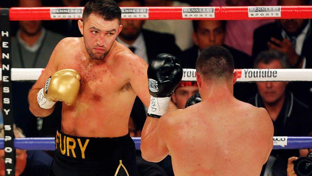 """Hughie Fury ist der """"kleine"""" Cousin von Ex-Champion Tyson Fury - Bildquelle: imago"""