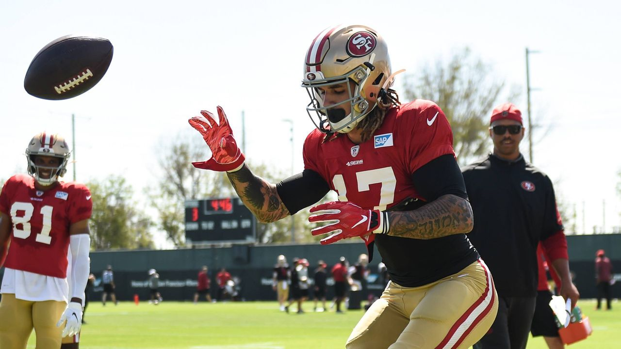 Jalen Hurd (San Francisco 49ers) - Bildquelle: imago images / Icon SMI