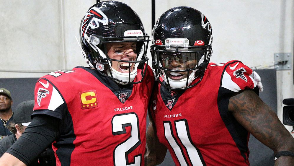 Matt Ryan und Julio Jones. - Bildquelle: imago images/ZUMA Press