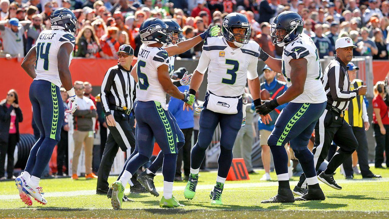 NFC: 3. Seattle Seahawks (aktuell 7-2) - Bildquelle: 2019 Getty Images