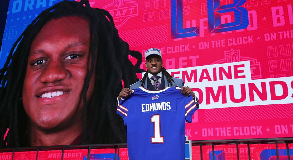 16. Pick - Buffalo Bills: LB Tremaine Edmunds - Bildquelle: getty