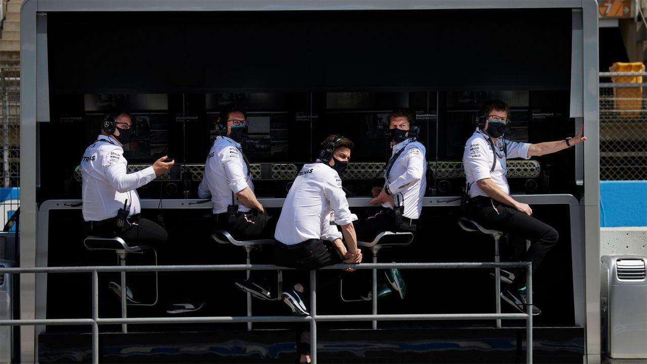 Gewinner: Strategieabteilung von Mercedes - Bildquelle: Imago Images