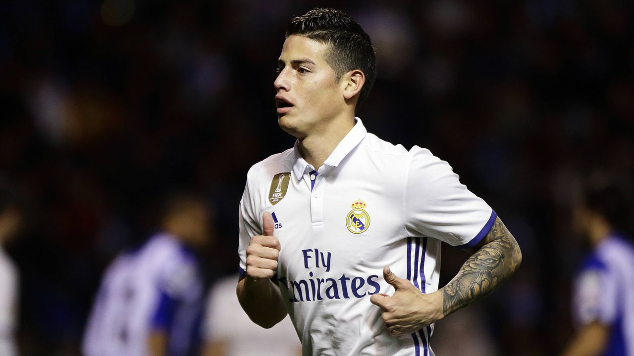 James Rodriguez (ehemals Real Madrid) - Bildquelle: imago