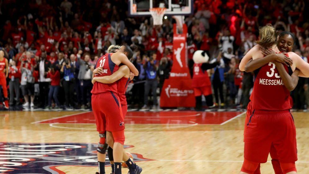 Erster WNBA-Titel für die Washington Mystics - Bildquelle: GETTY AFPSIDRob Carr
