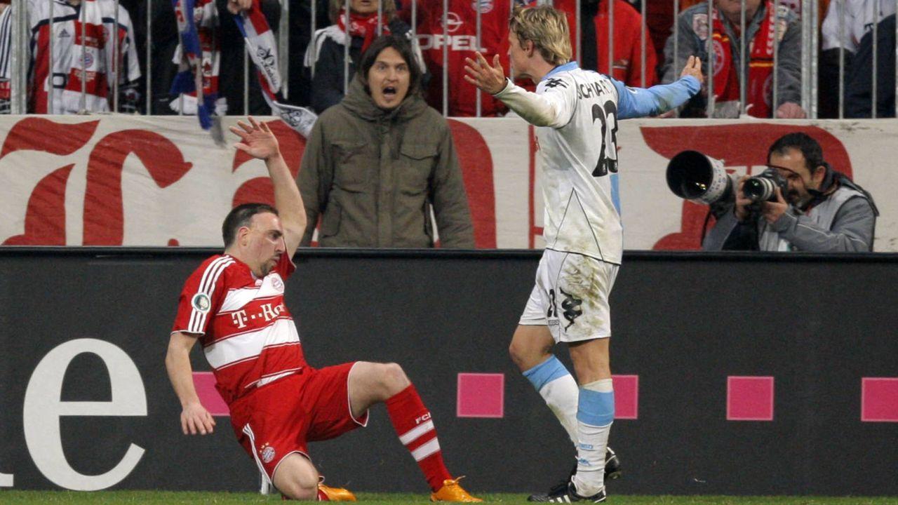 Ribery und Schwarz (2008) - Bildquelle: imago sportfotodienst