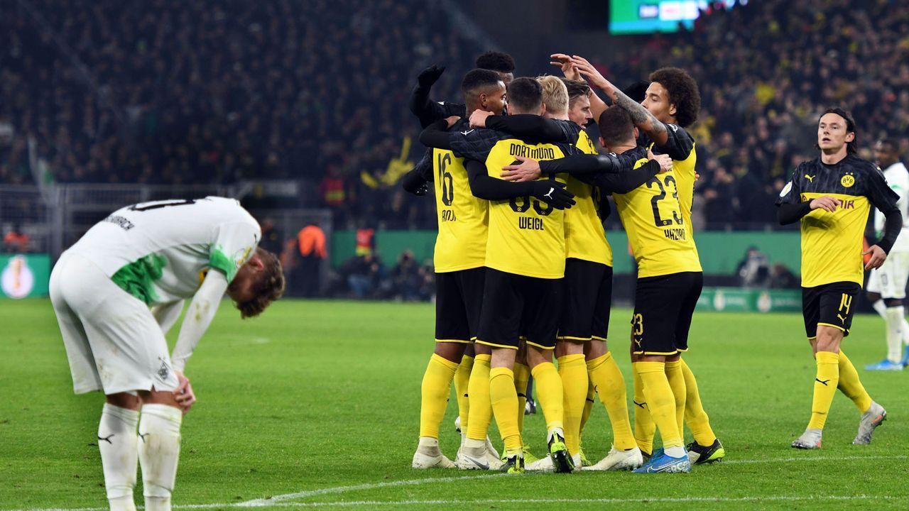 Einzelkritik: Die Noten zum Pokal-Knaller Borussia Dortmund gegen Borussia Mönchengladbach - Bildquelle: imago