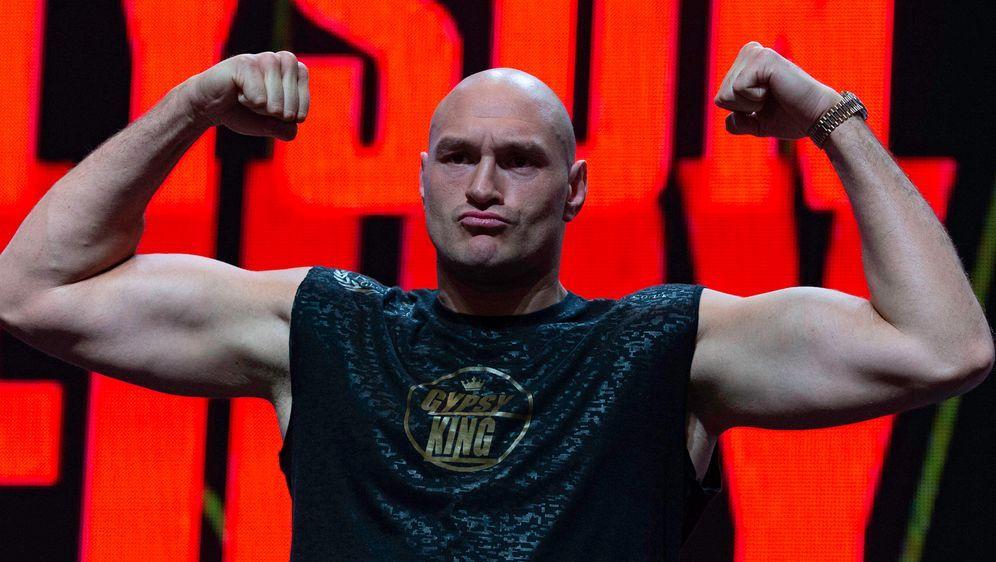 Tyson Fury. - Bildquelle: imago images/ZUMA Press