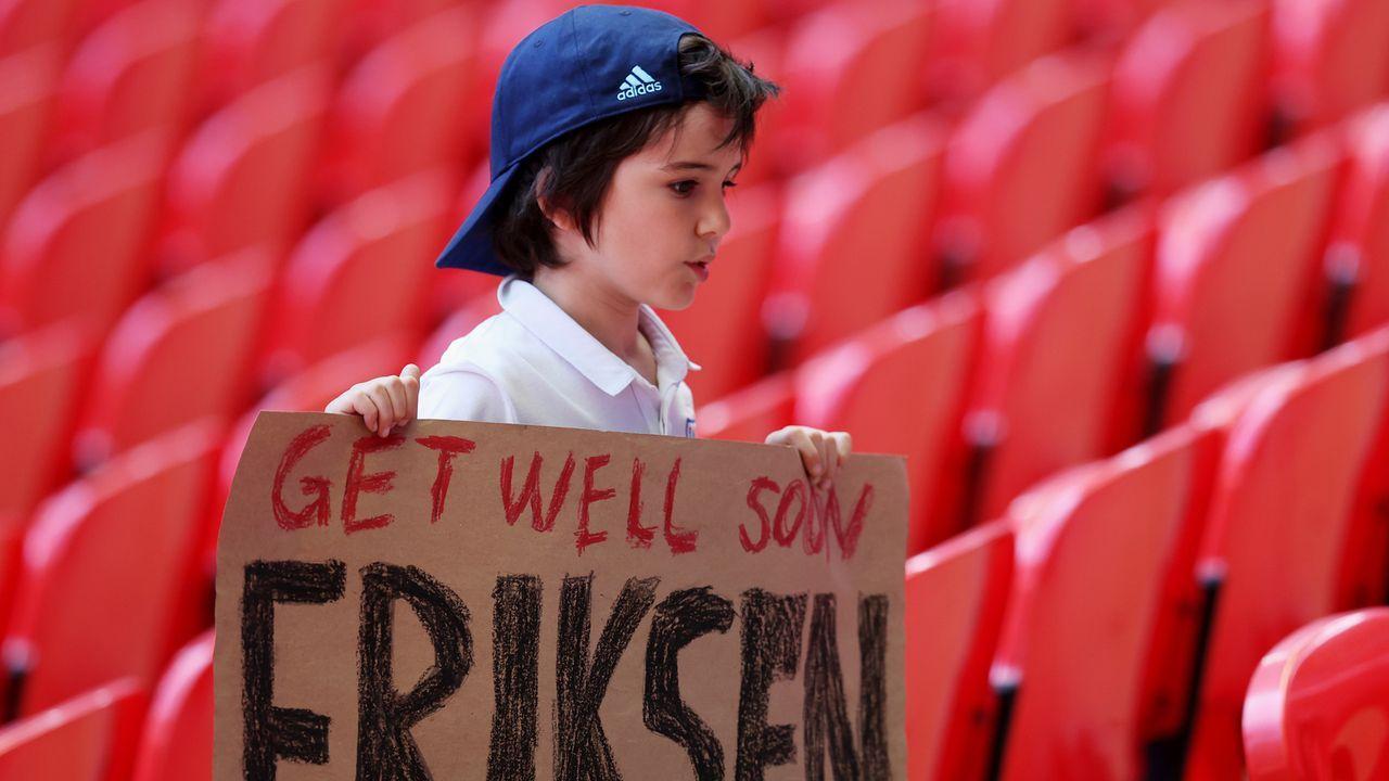 Get well soon Eriksen - Bildquelle: 2021 Getty Images