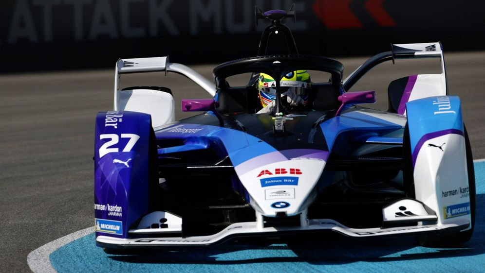 BMW-Pilot Alexander Sims eroberte die erste Pole-Position der Formel-E-Saiso... - Bildquelle: LAT