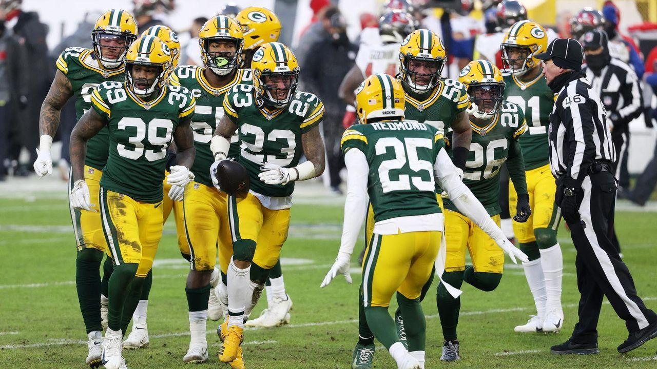 Platz 5 - Die Green Bay Packers - Bildquelle: 2021 Getty Images