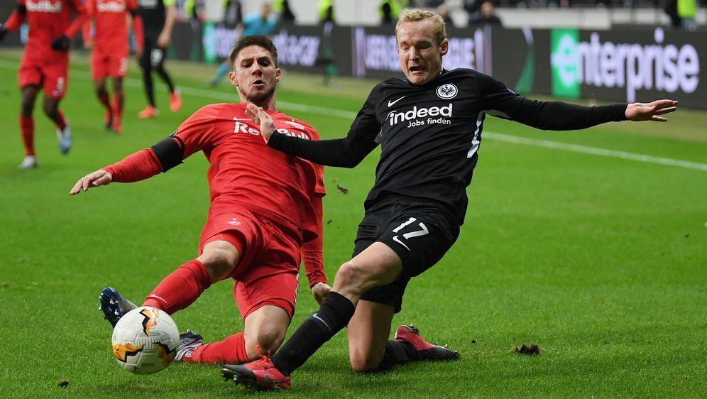 Das Hinspiel zwischen Eintracht Frankfurt und dem FC Salzburg endete 4:1 - Bildquelle: 2020 Getty Images