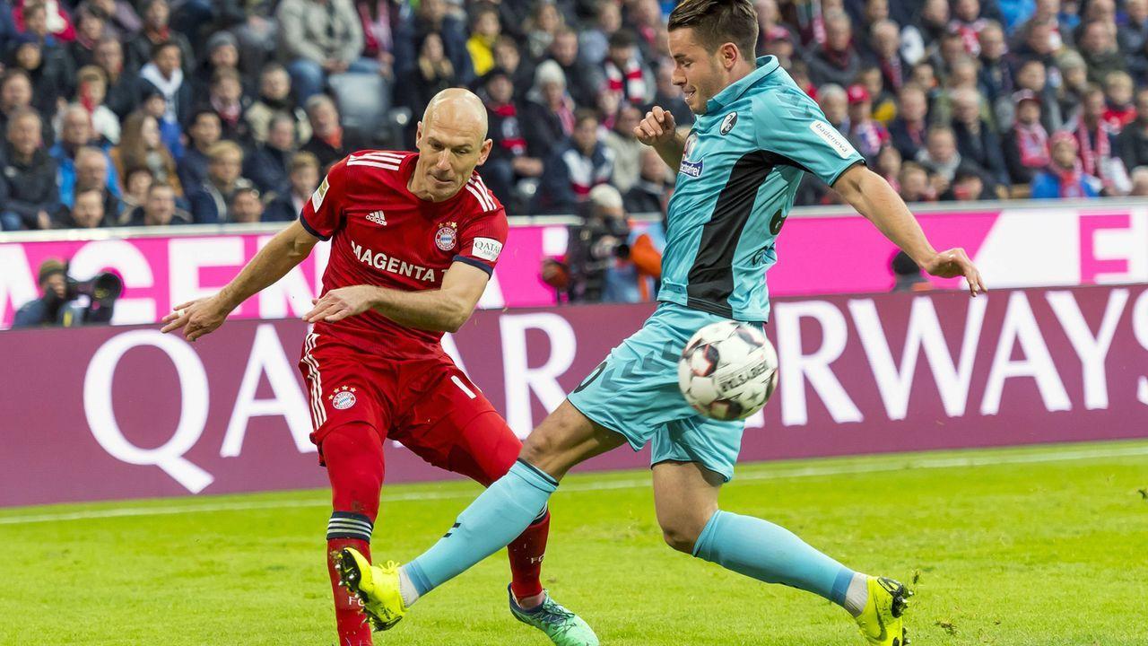 Arjen Robben (Rechtsaußen) - Bildquelle: Imago