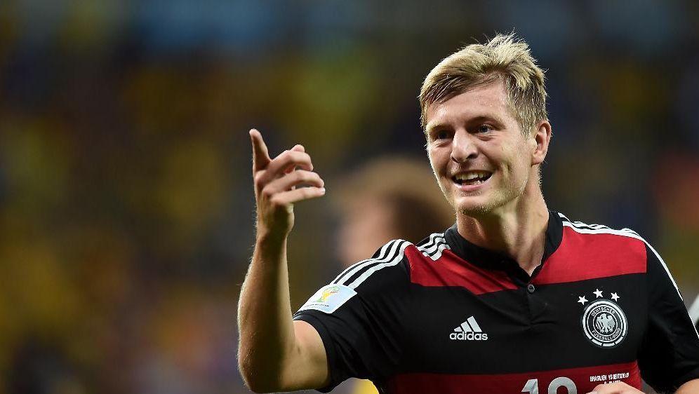 Toni Kroos bereitete zwei Tore vor und erzielte zwei - Bildquelle: SID-SID-AFPVANDERLEI ALMEIDA