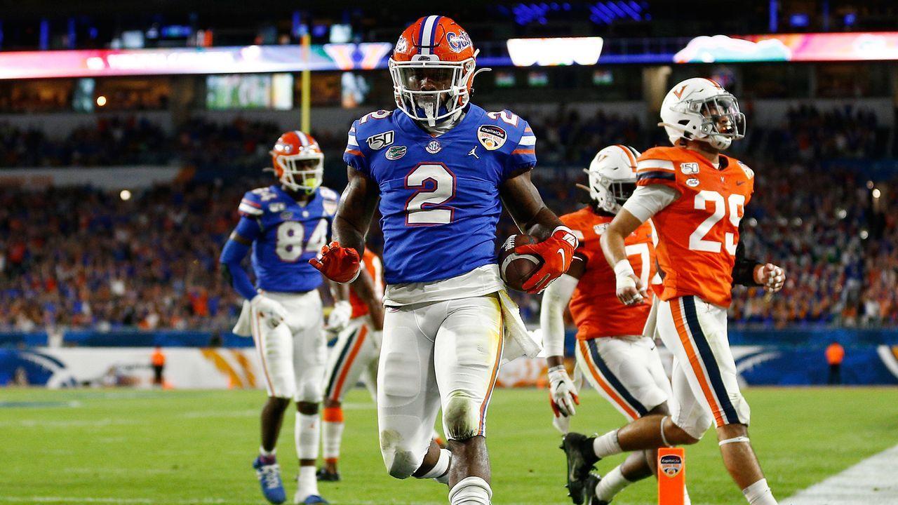 Lamical Perine (Running Back, Florida Gators) - Bildquelle: getty